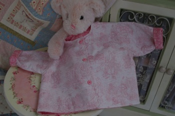 Treasured Memories Baby Jacket Pink