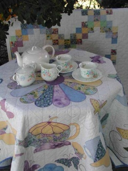 Garden Party Tablecloth image