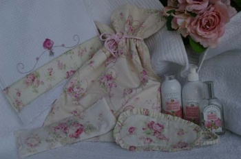 Rosies Boudoir Accessories including lingerie bag